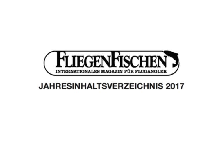 Fliegenfischen-Jahresinhaltsverzeichnis-2017