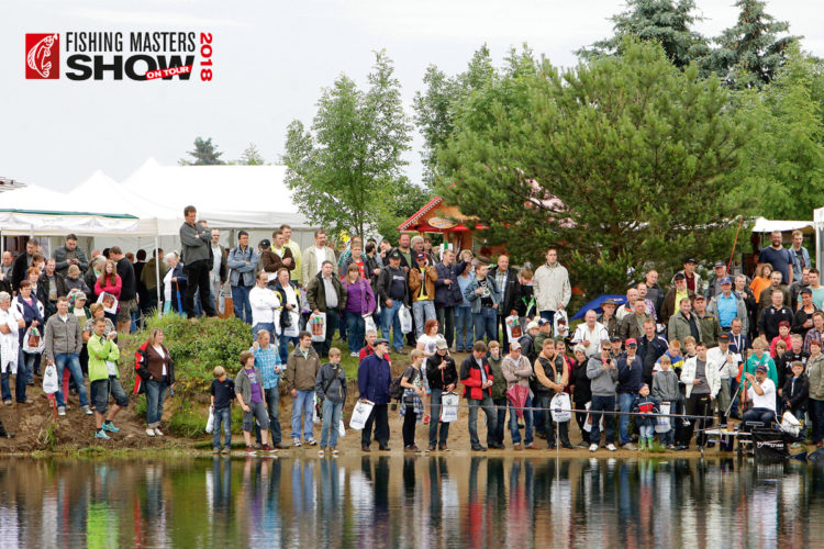 Fishing Masters Show 2018 in Brandenburg an der Havel.