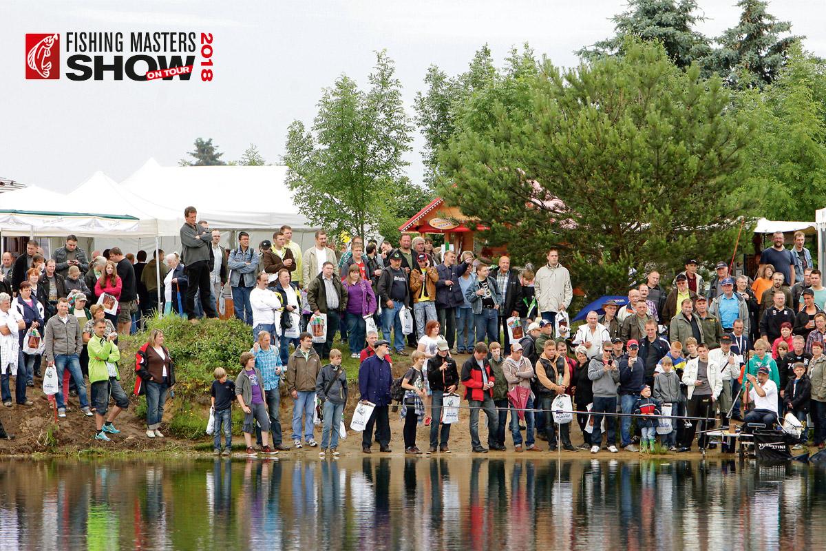 Fishing Masters Show 2018 in Brandenburg an der Havel.