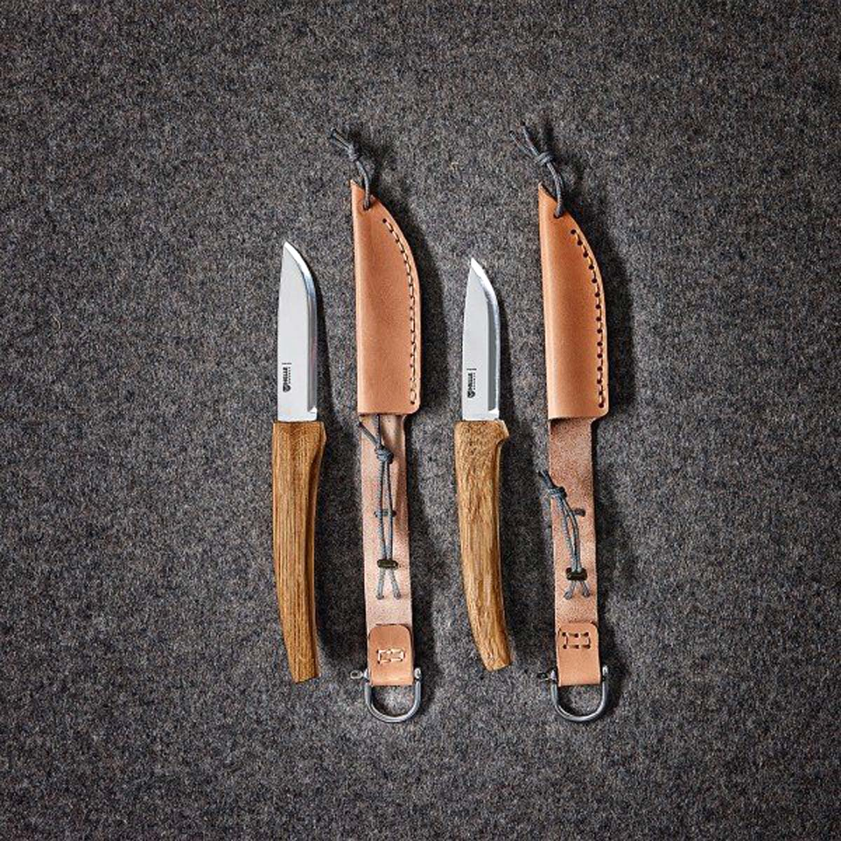 Edle Teil! Ein selbstgemachtes Messer dient schon von Anfang an als Erinnungsträger. Foto: HELDBERGS