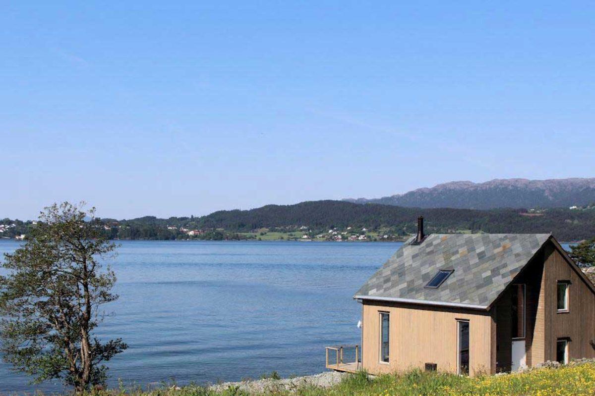 So könnte dein Angelurlaub auf Huglo am Hardangerfjord aussehen. Foto: Borks