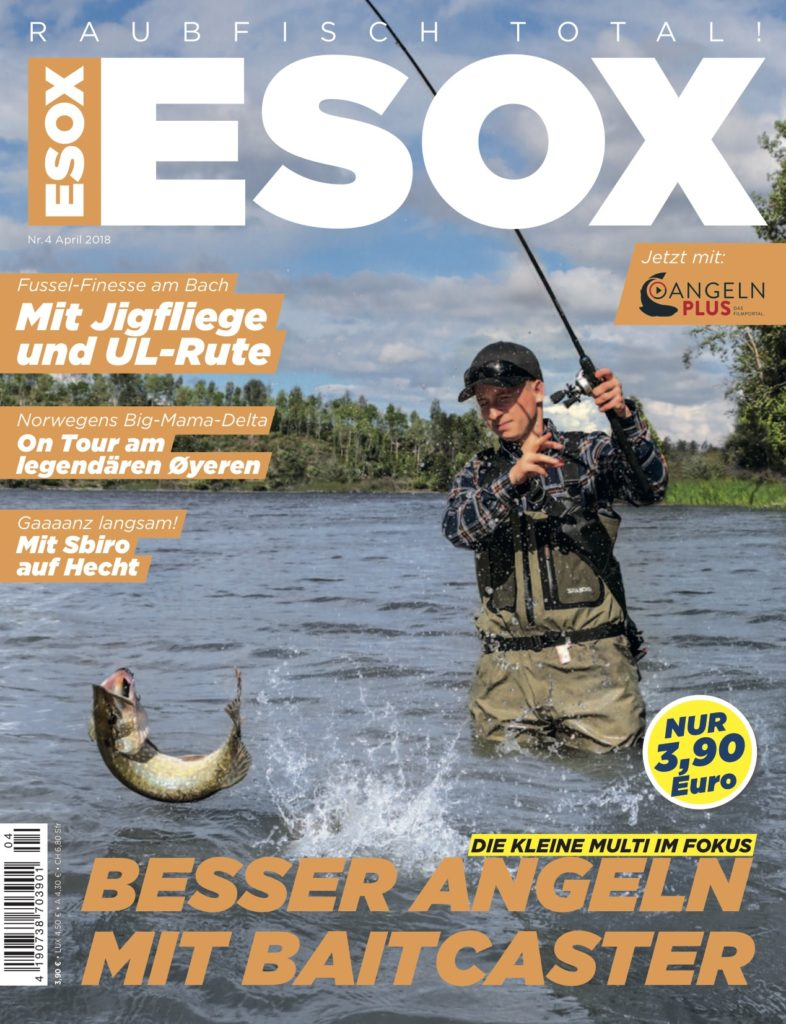 Titel ESOX-Magazin April 2018