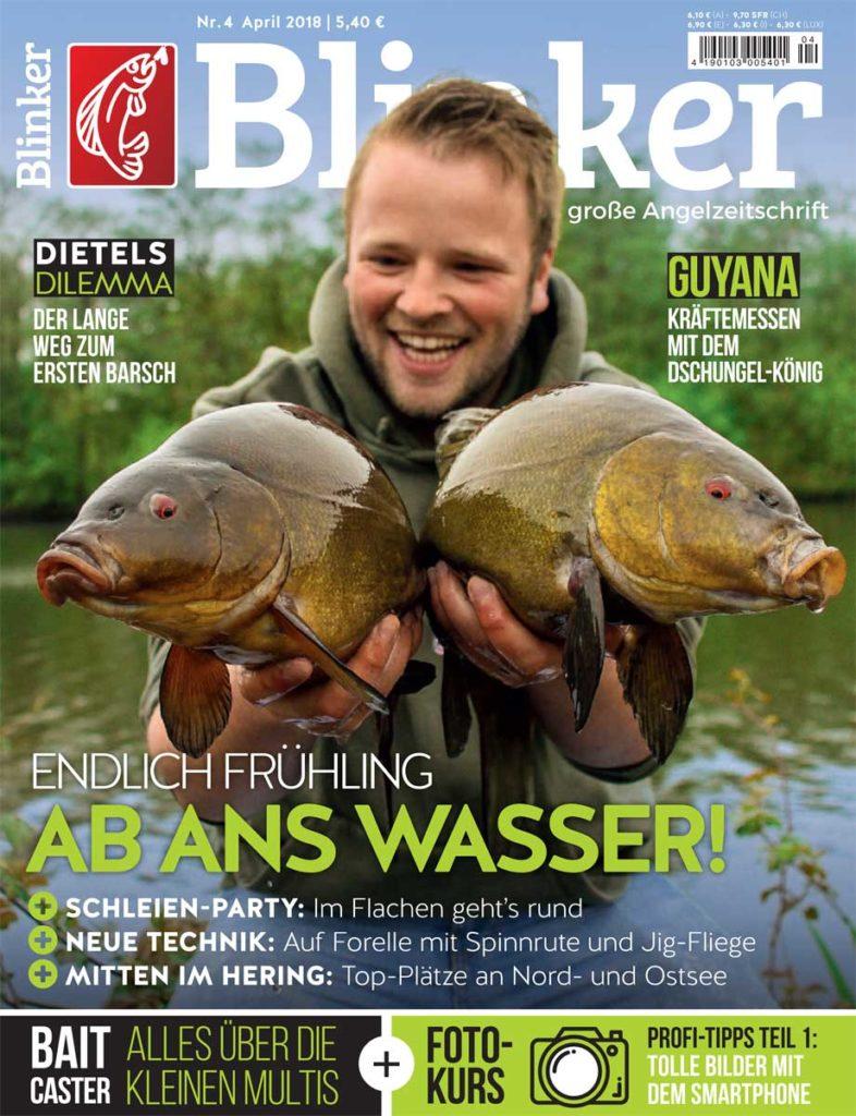 Titel Blinker-Magazin 04/2018