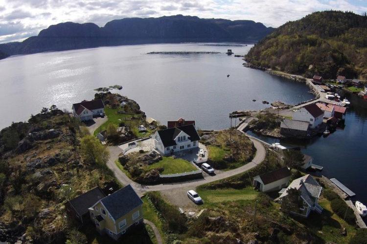 Tolle Aussichten für Deinen Angelurlaub auf Andabeløy in Norwegen. Foto: Borks