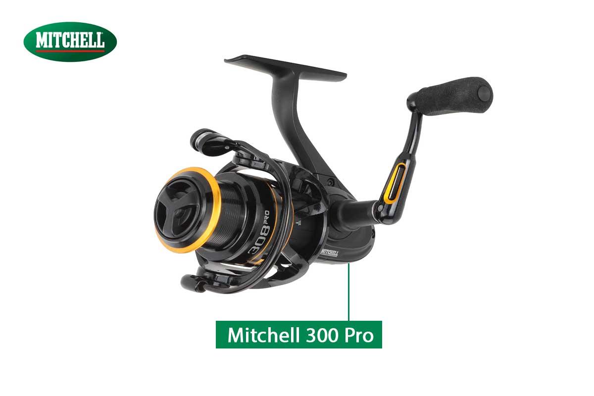 Die neue Mitchell 300er Pro-Rolle ist ein echter Hingucker.