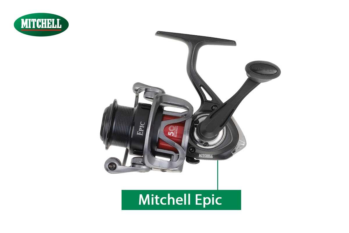 Die Epic-Rolle von Mitchell besitzt einen Rotor in Skelett-Bauweise. So wurde Gewicht gespart.