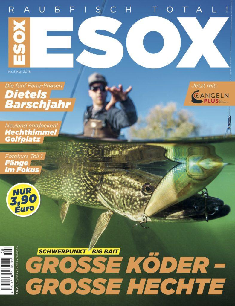 Titel ESOX-Magazin 05 2018