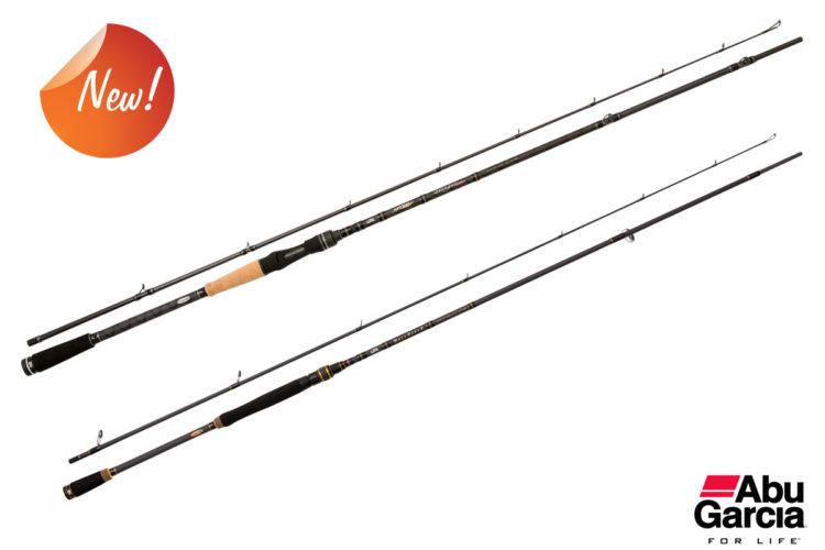 Die neuen Mass Beat II - und Hornet Stinger-Ruten von Abu Garcia bieten für jede Angelart die richtige Rute. Foto: Pure Fishing