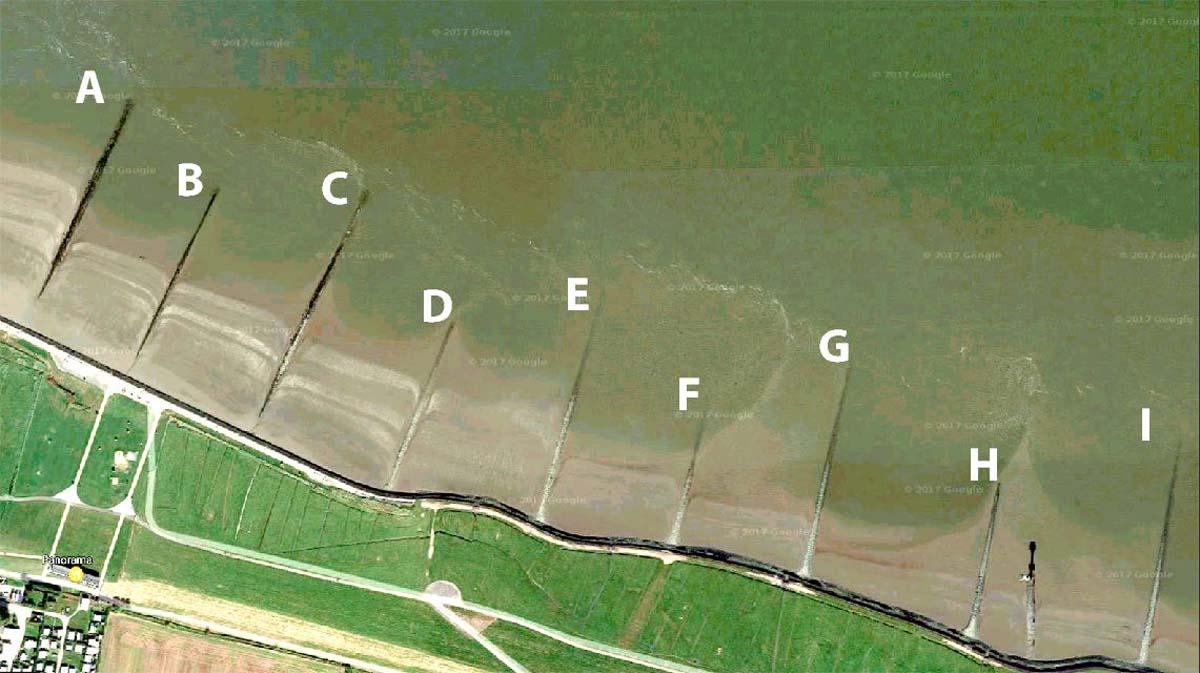 Buhnen Zanderangeln © Google Maps