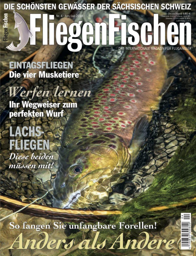 """In FliegenFischen 4-18 erfahren Sie alles zum Thema """"Fliegenfischen selber lernen"""" – und natürlich haben wir jede Menge spannende Berichte aus der Praxis für Sie!"""