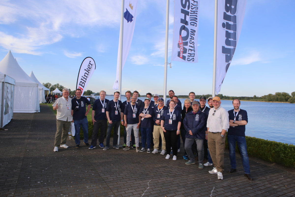 Das Fishing Master Show 2018 Messe Team