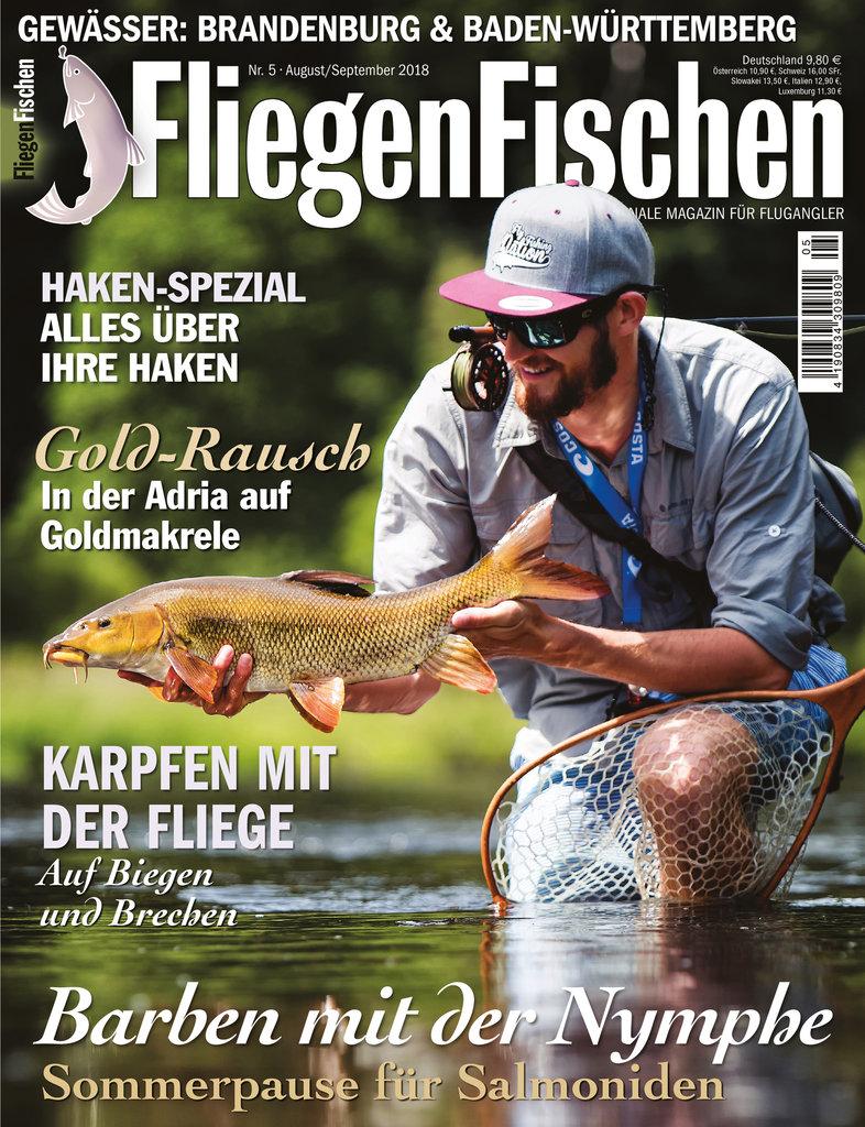 FliegenFischen Magazin 05 2018