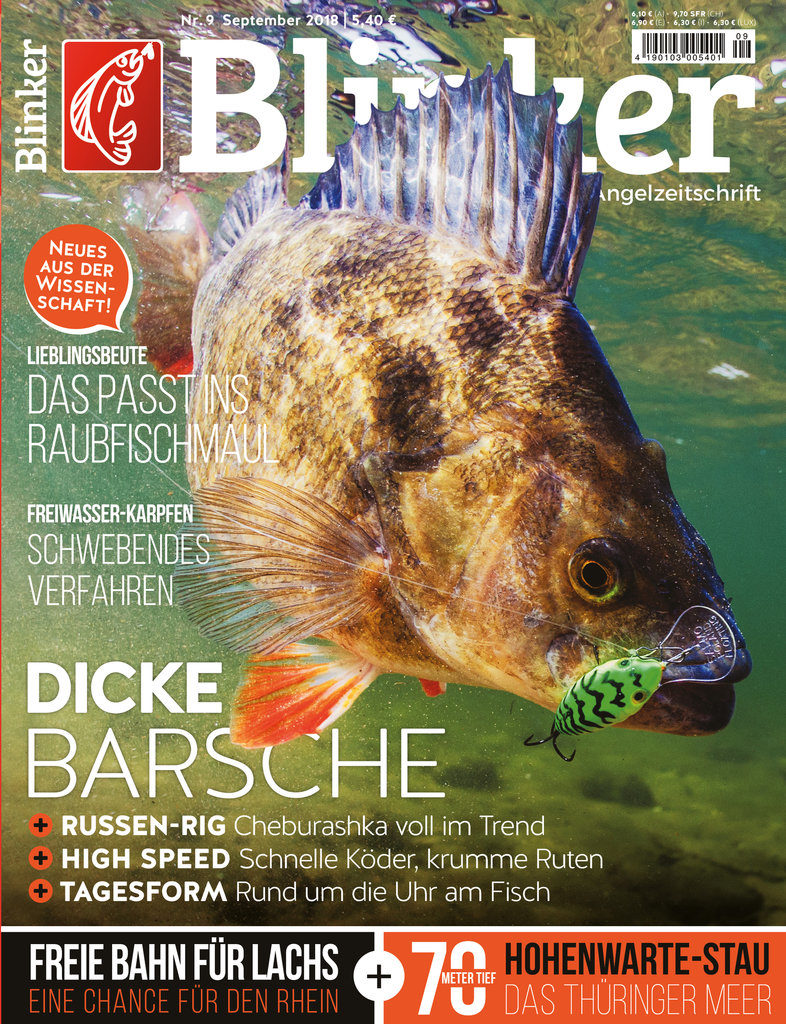 Das BLINKER-Magazin 09/2018