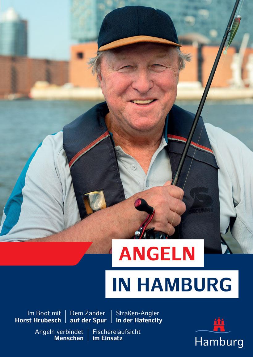 """Die Broschüre """"Angeln in Hamburg"""" umfasst 39 Seiten und informiert Angler über die wichtigsten Fakten rund um das Angeln in der Hansestadt."""
