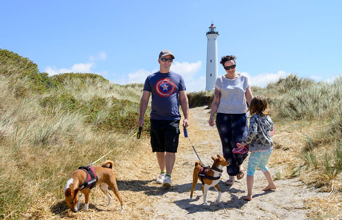 Neues Lebensgefühl und Zeit für Hobbys. Die Mayrbergers haben ihr Glück in Dänemark gefunden. Foto: Kommune Ringkøbing-Skjern