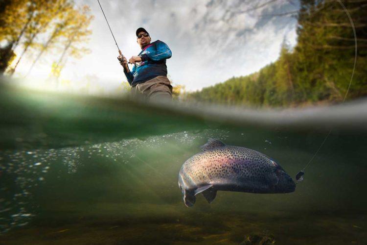 Egal ob aktiv oder passiv auf Forellen angeln: In den Forellenseen in Deutschland findet jeder seinen passende Angelmethode und natürlich auch seinen Zielfisch.