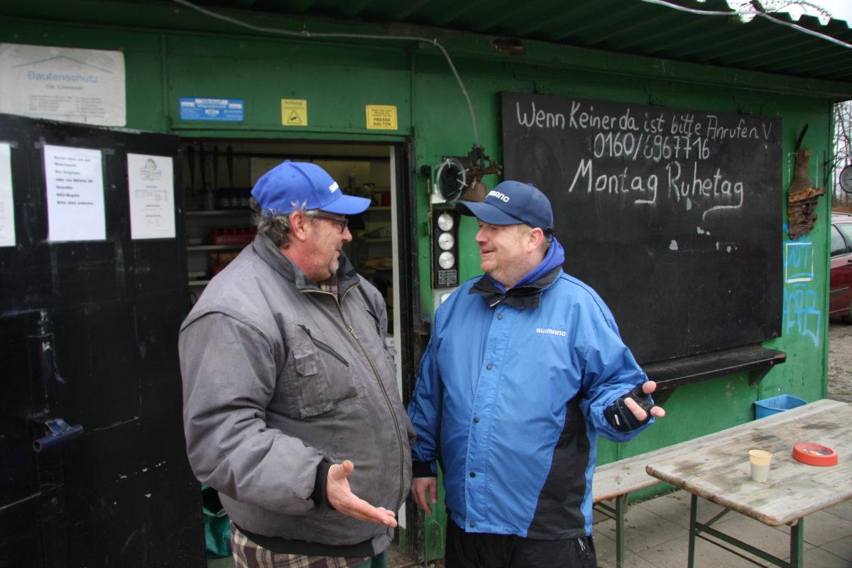 Ein Gespräch mit dem Betreiber der Anlage bringt wichtige Erkenntnisse. Foto: Gregor Bradler