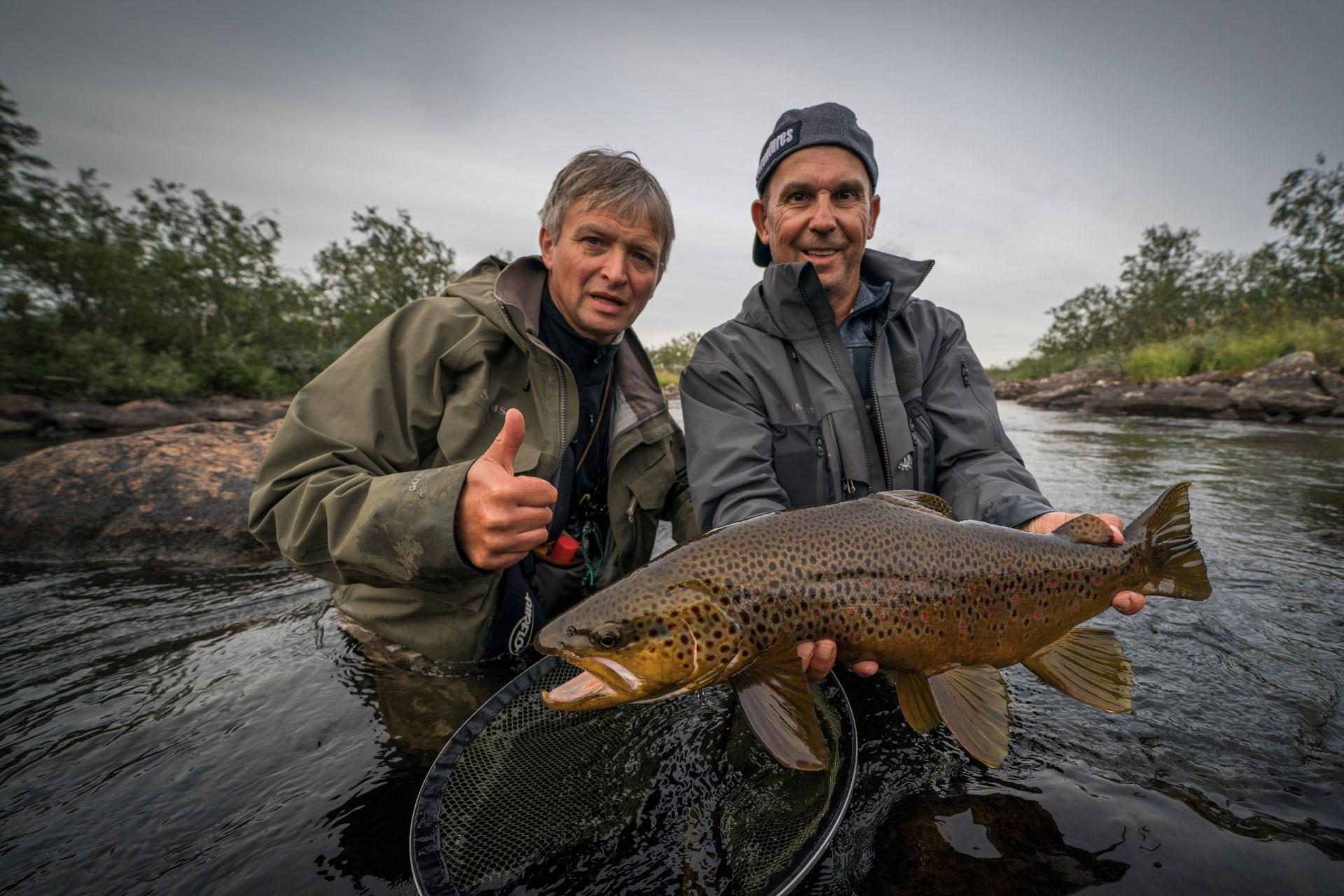 """Der Film """"VIP Brown Trout"""" von Helmut Zaderer wird auf dem Festival gezeigt. Foto: RISE Fly Fishing Film Festival 2019/ Helmut Zaderer"""