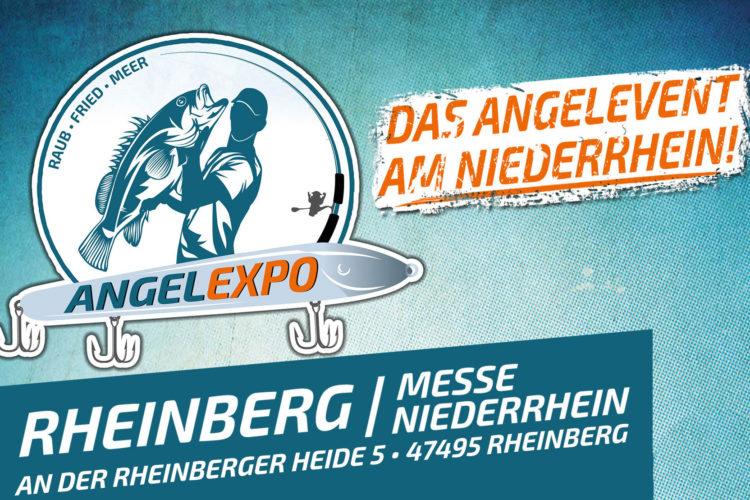 Mitmachen und Freikarten für die Angelexpo Rheinberg 2018 gewinnen.