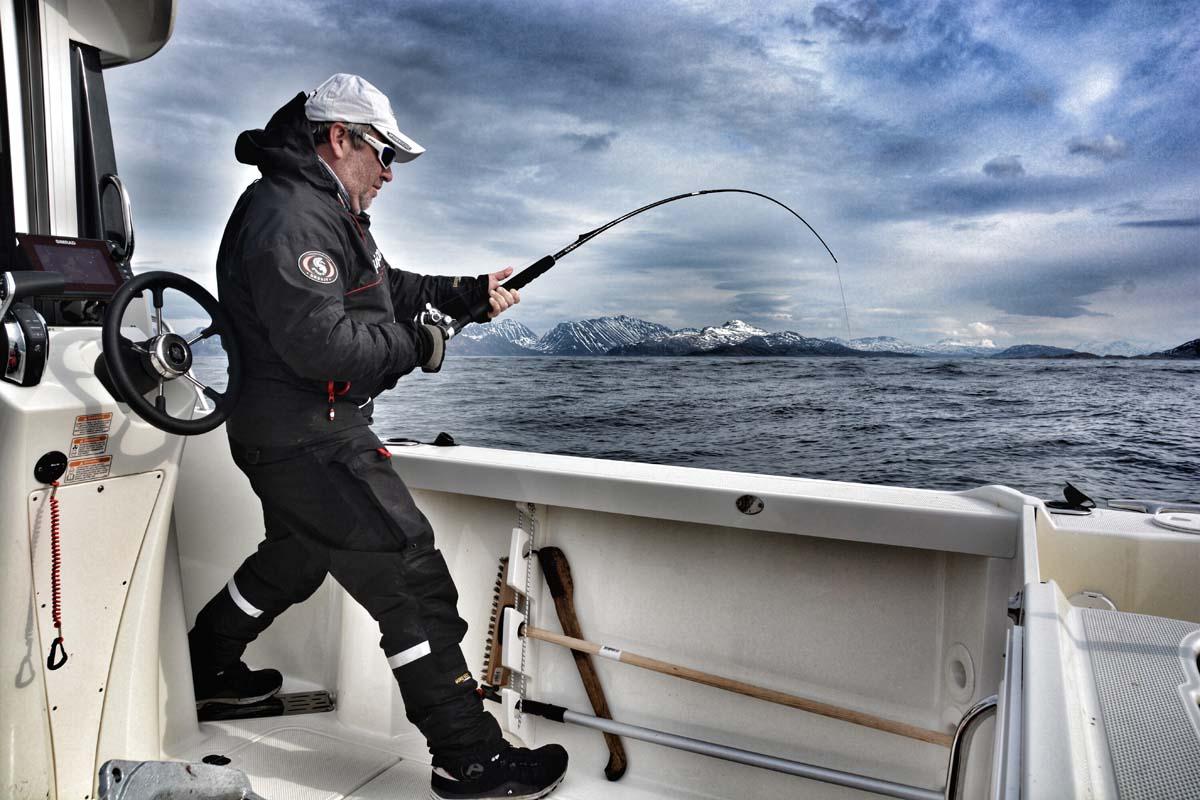 Solche tollen Drills erwarten die Angler in Norwegen! Nicht umsonst ist das Land als Reiseziel bei deutschen Anglern so beliebt. Foto: Kutter&Küste/Rainer Korn