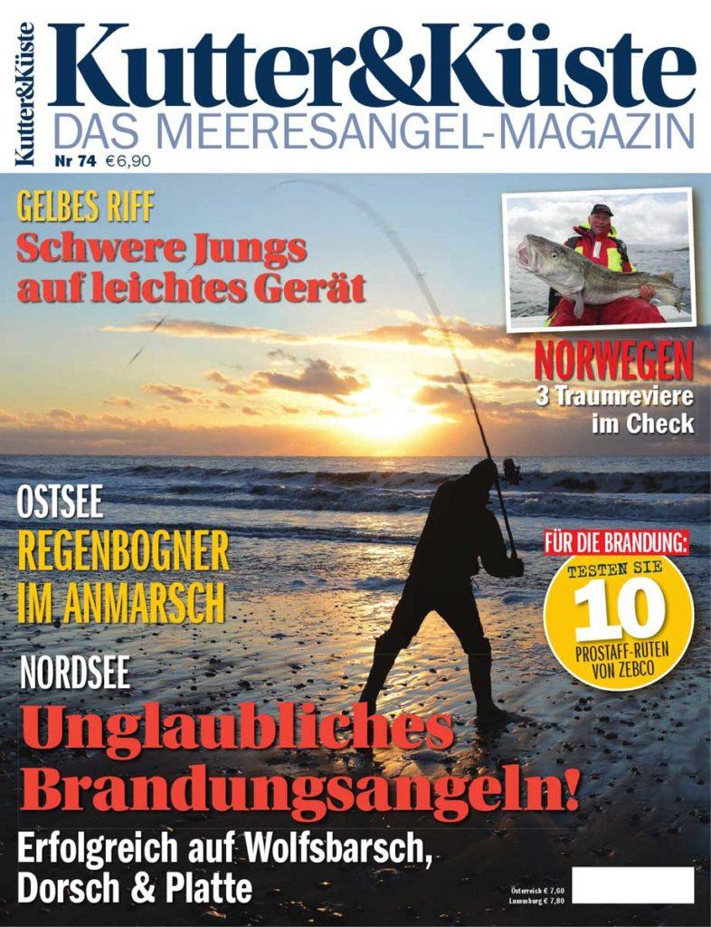 Kutter & Küste Magazin 74 ab dem 11. Dezember 2018 im Handel erhältlich.