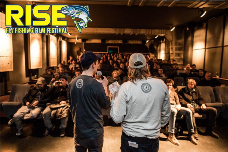 Spannende Filme und gute Gespräche mit anderen Fliegenfischern: Das ist das RISE Fly Fishing Film Festival 2019! Foto: RISE Fly Fishing Film Festival 2019/Stephan Pramme