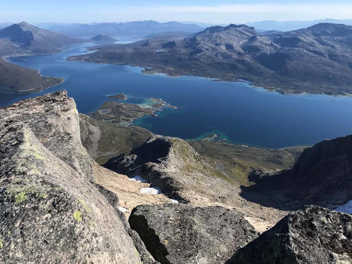 Fischreicher Ausblick auf den Vestfjord. Foto: BORKS