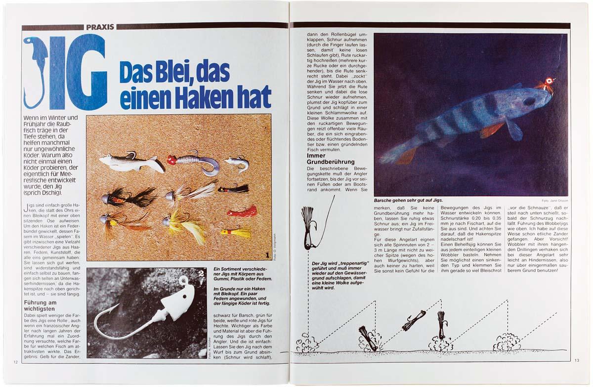 Ein neuer Trend aus den Vereinigten Staaten schwappt zaghaft nach Deutschland über. Der BLINKER berichtet zwar bereits jetzt über die neuen Gummiköder und Bleiköpfe, doch die Reaktionen sind verhalten. Noch ist der Köderfisch die Nummer eins beim Zanderangeln. Noch.