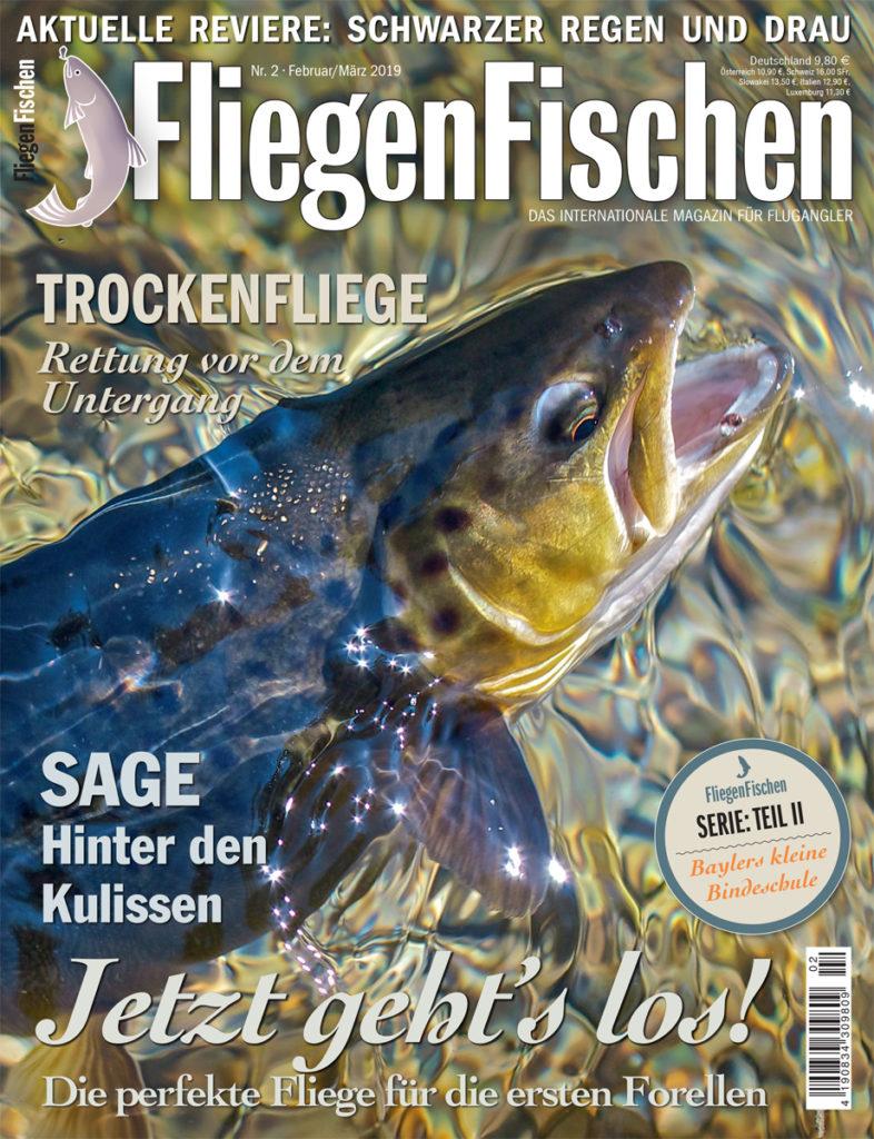FliegenFischen-Magazin 02/2019