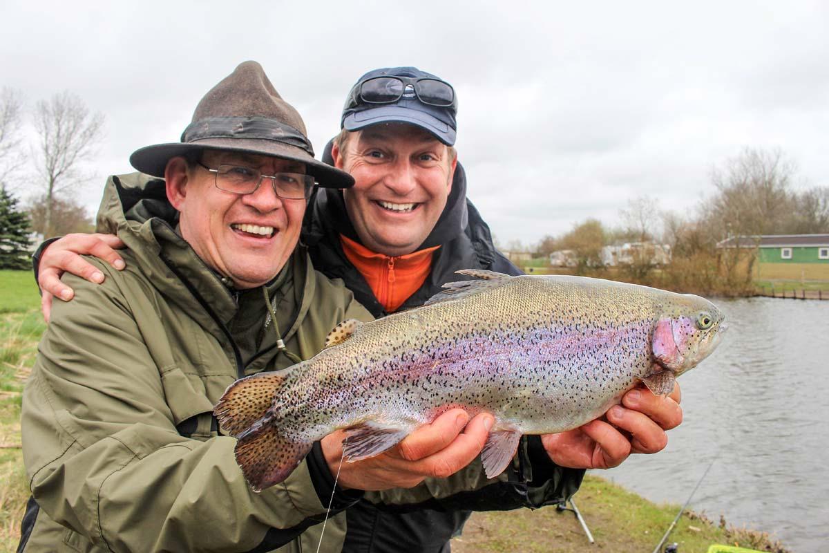 Forellenseen in Mecklenburg-Vorpommern versprechen nicht nur Spaß, sondern auch jede Menge Fisch. Foto: M. Wendt