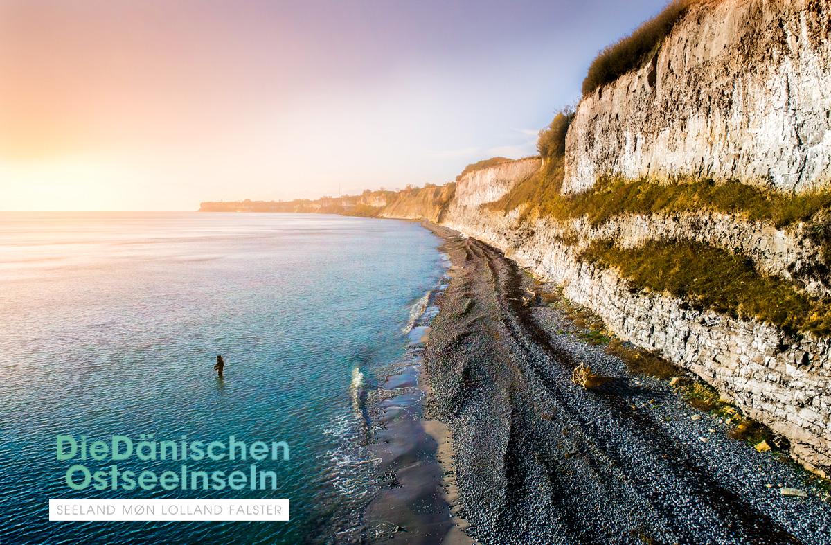 Stevns Klint – ein Hotspot für Meerforellen. Foto: S. KNARBERG