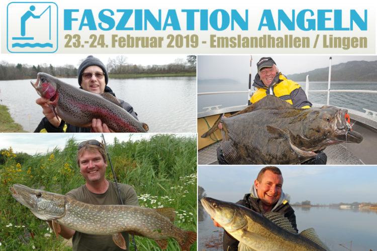 Zahlreiche Experten aus der Angelszene sind auf der Faszination Angeln 2019 in Lingen dabei.