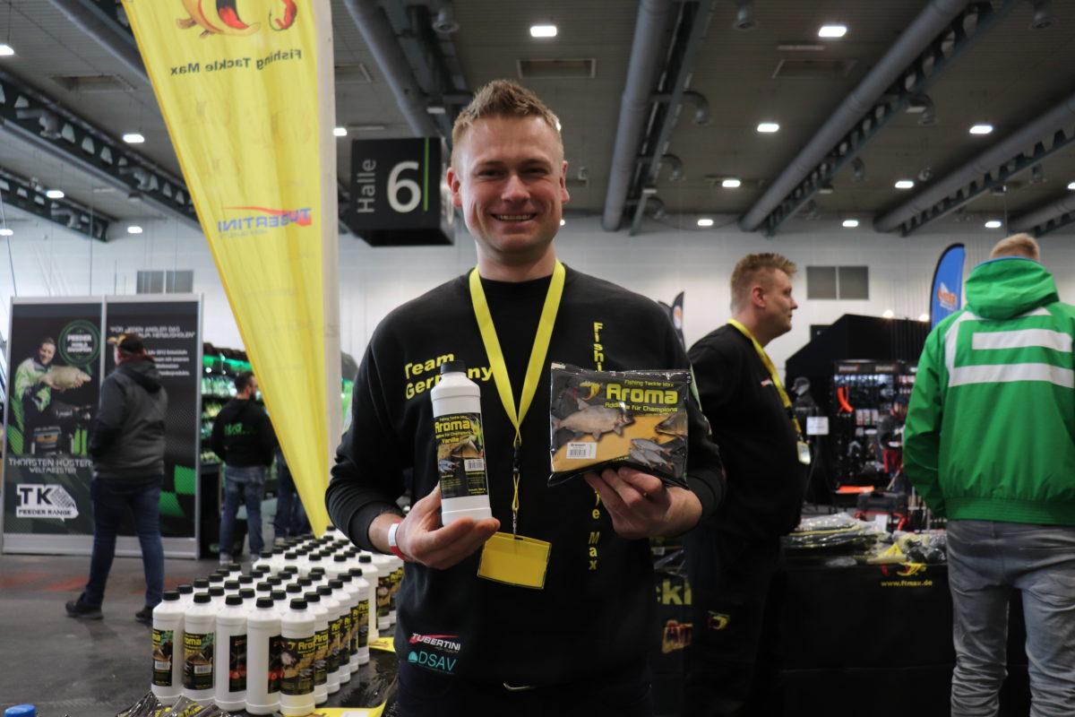 Der Weltmeister im Posenfischen, Johannes Böhm wird auf der Stippermesse Bremen 2019 am Stand von Fishing Tackle Max zu finden sein. Er verrät gerne, mit welchen Aromen er fischt
