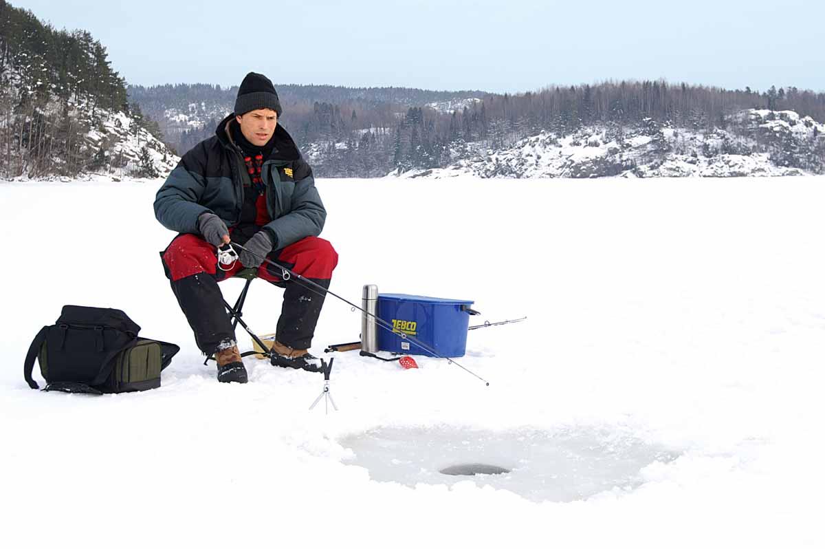 Kurze Ruten sind handlich und beim Eisangeln sehr hilfreich.