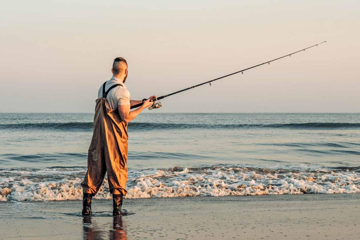 Der Strand bei Hvide Sande lockt viele Plattfischangler. Foto: Hvide Sande/Visit Denmark