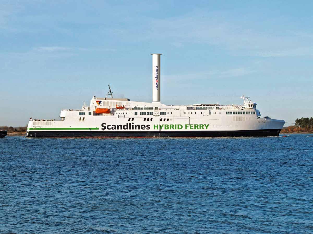 Die Scandlines-Fähren bieten perfekte Verbindungen nach Dänemark. Foto: Scandlines