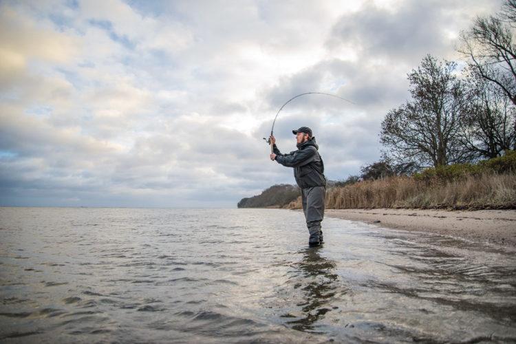 Beim Angeln in Dänemark stehen einem große und fischreiche Wasserflächen zur Verfügung. Foto: N. Korsholm