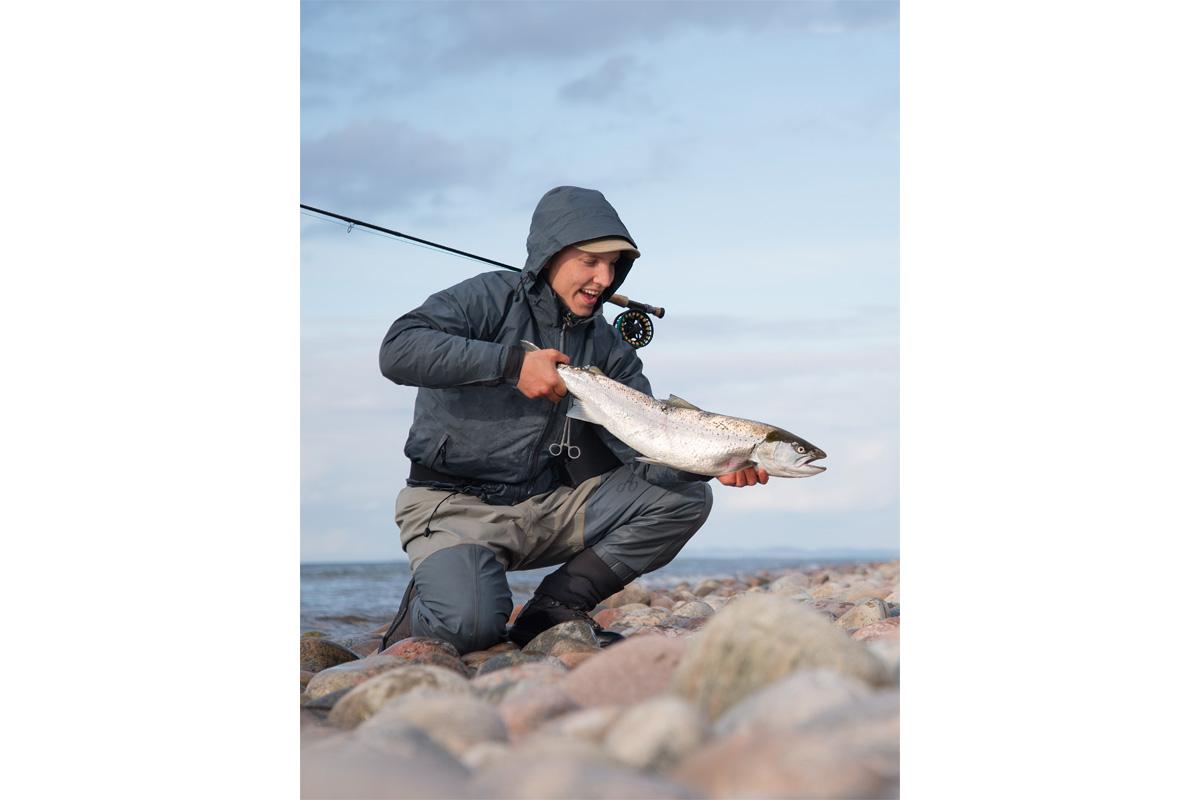 An der Küste Nordseelands sind Fische wie dieser das Ergebnis harter Arbeit. Foto: Visit Denmark