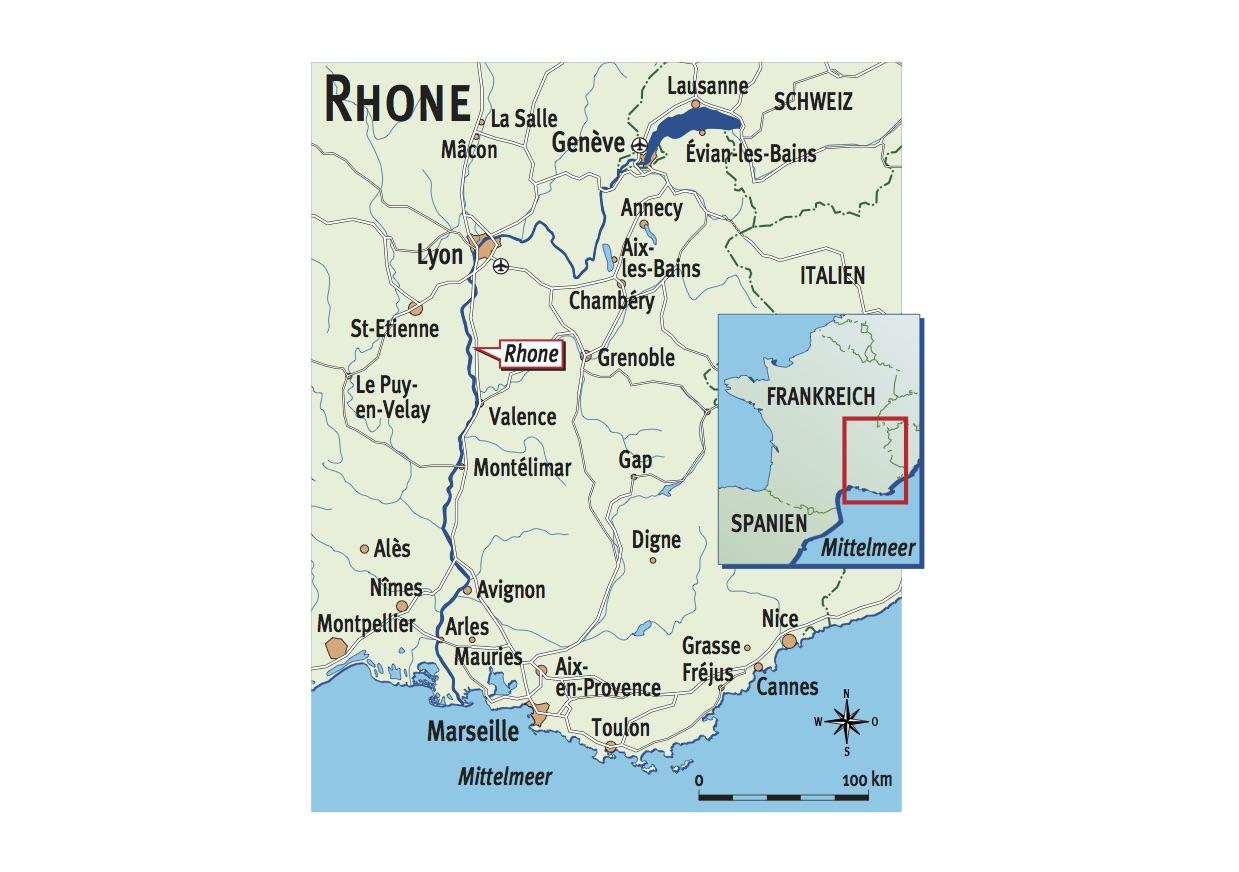 Die Rhône ist schwieriger und launischer als die meisten anderen Ströme. Aber wer sie knackt, darf sich auf schlanke Kämpfer der Extra-Klasse freuen.