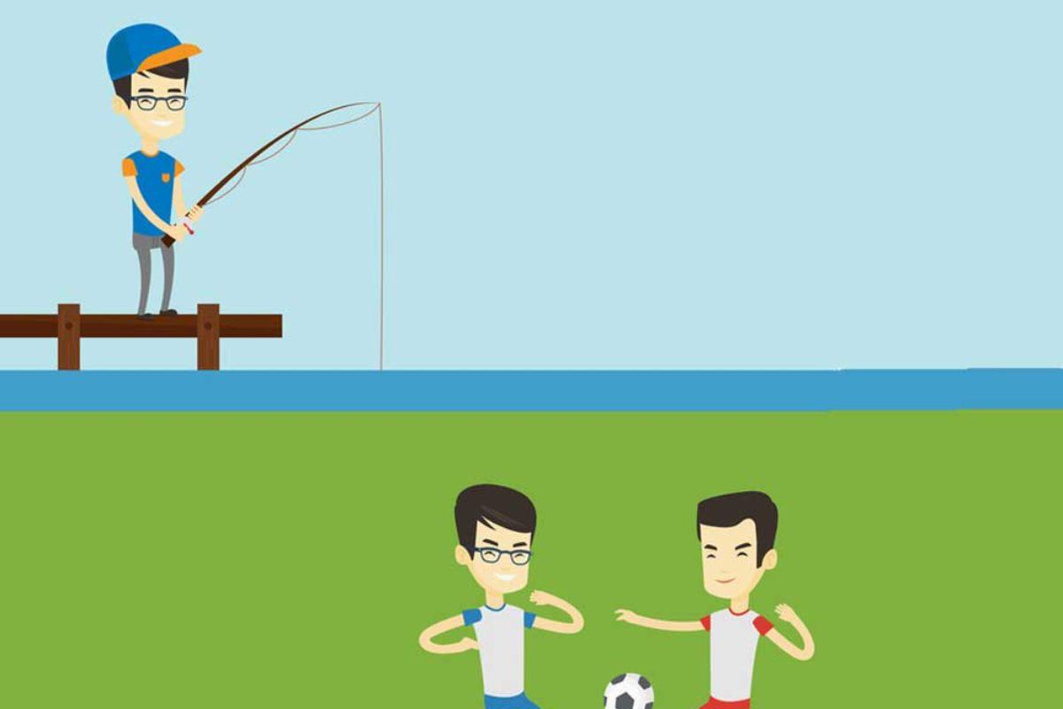 Angeln im Stadion: Halbzeitpause bringt Fisch