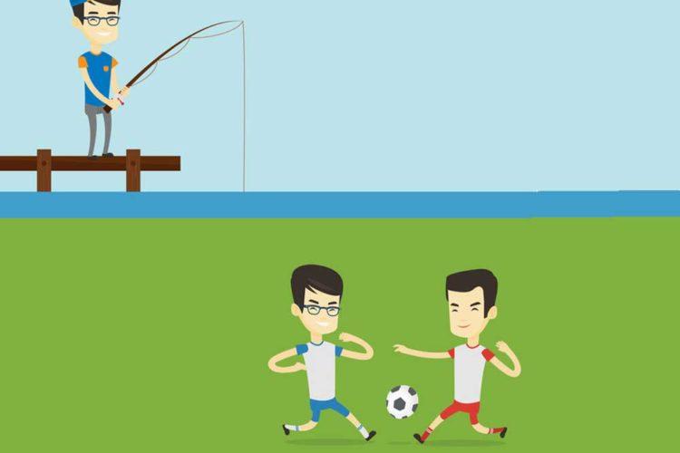 Angeln im Stadion geht nicht? Und ob! Bei einem Fußballspiel Reggiana gegen Modena in Italien kam es zu einer kuriosen Situation, als ein Fan während der Halbzeitpause die Angeln in einen Graben auswarf und ein kleines Wunder erlebte.