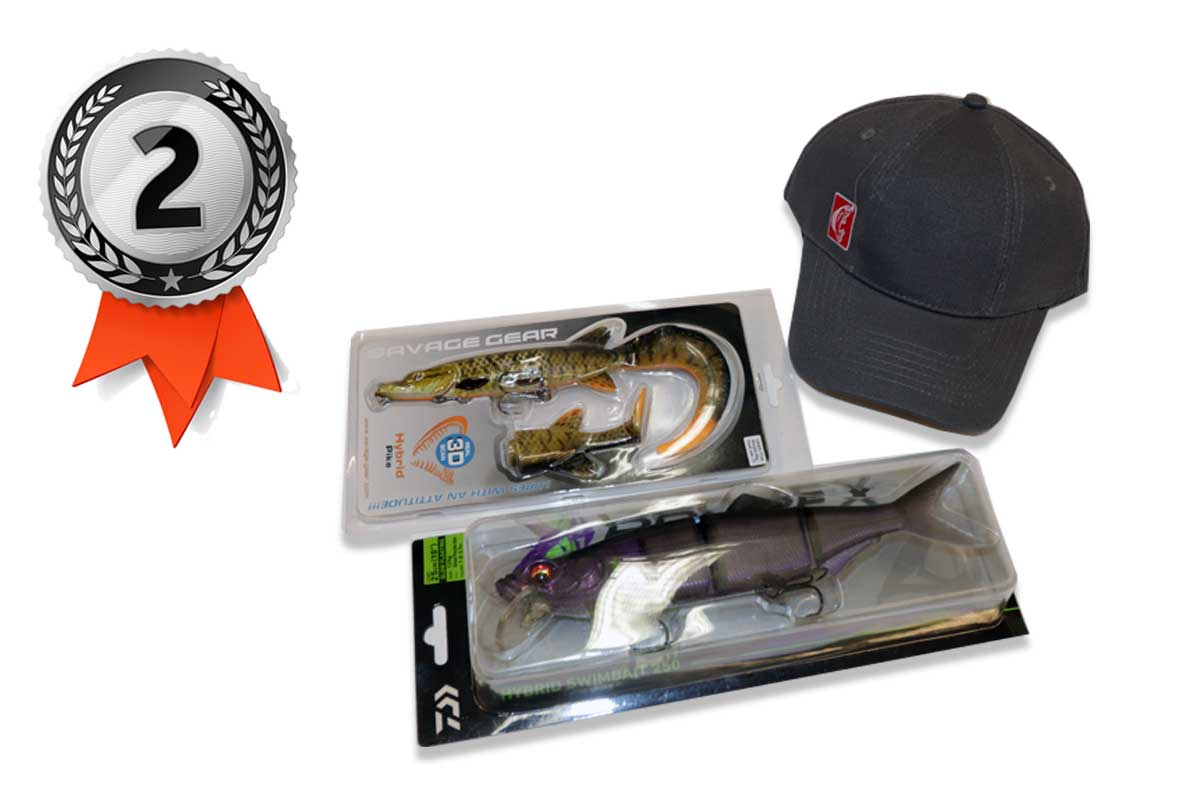 Savage Gear 3D Hybrid Pike + Daiwa Hybrid Swimbait 250 + BLINKER Basecap