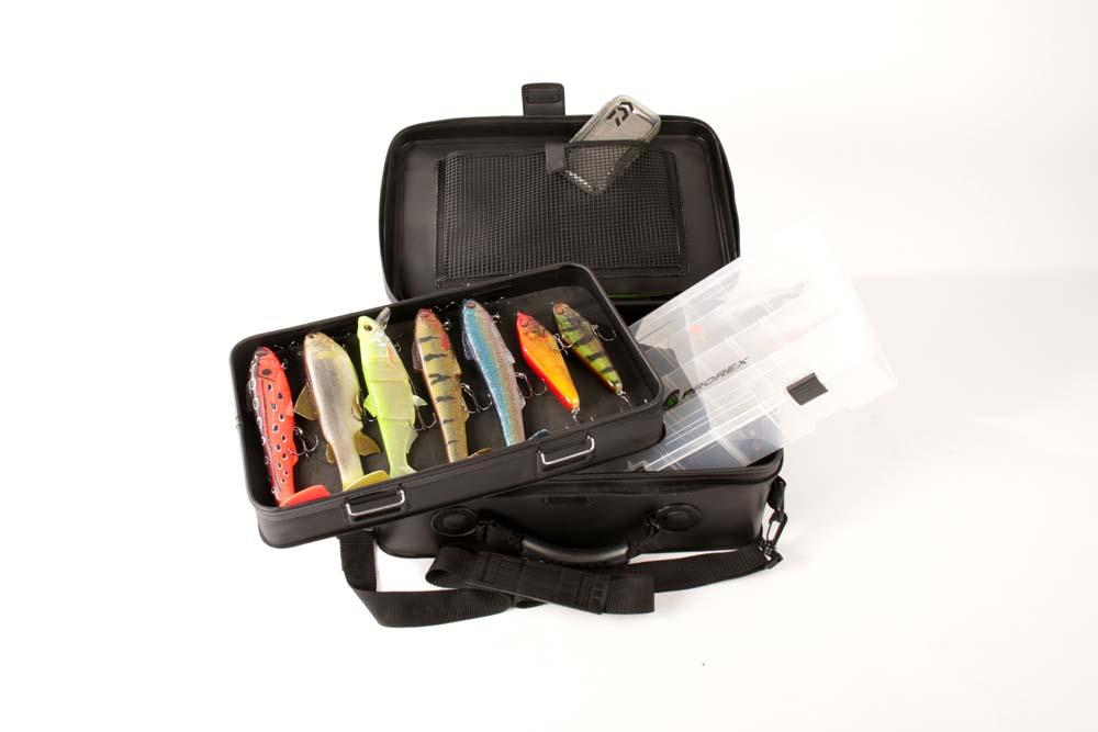 Ideale Saison- start-Tasche: Für den Angeltag lässt sich alles perfekt organisiert verstauen.