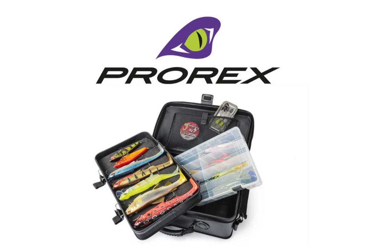 Die neue XL-Ködertasche von Prorex bietet reichlich Platz für Kunstköder jeglicher Art und hat dabei noch einige praktisches Features.