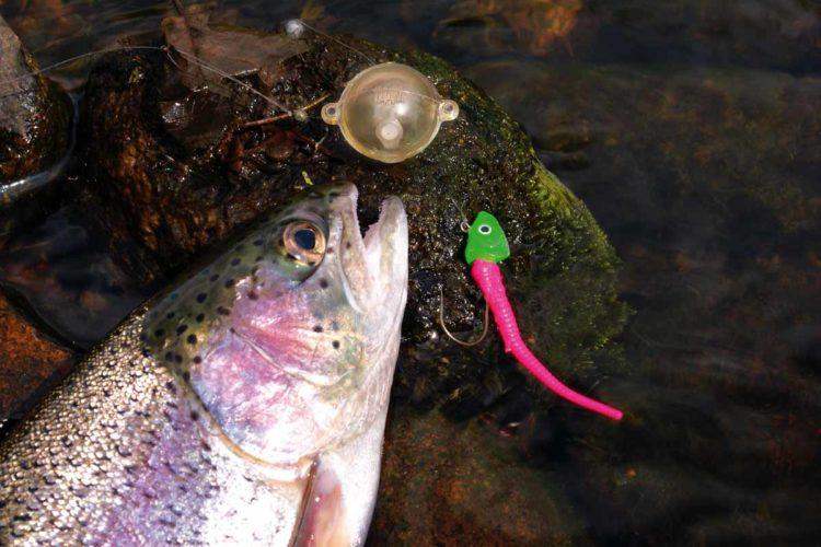 Das Angeln mit Wasserkugel am Forellensee ist ein wenig in Vergessenheit geraten, Zu Unrecht, findet Dieter Schröder! Foto: Blinker/E.Hartwich