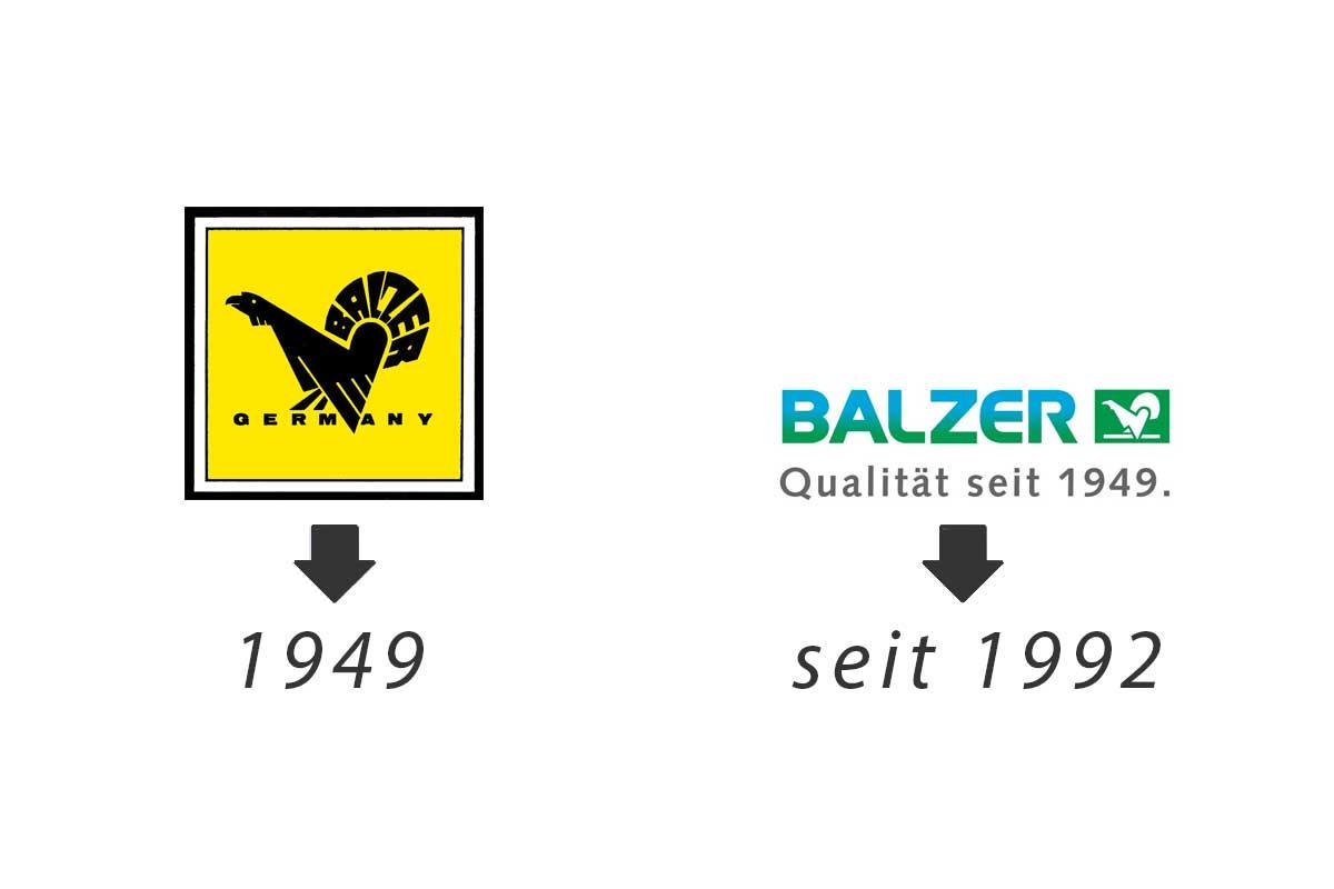 Konstanten Fortschritt und Weiterentwicklung sieht man auch am Logo der Firma, die immer noch am Wachsen ist.