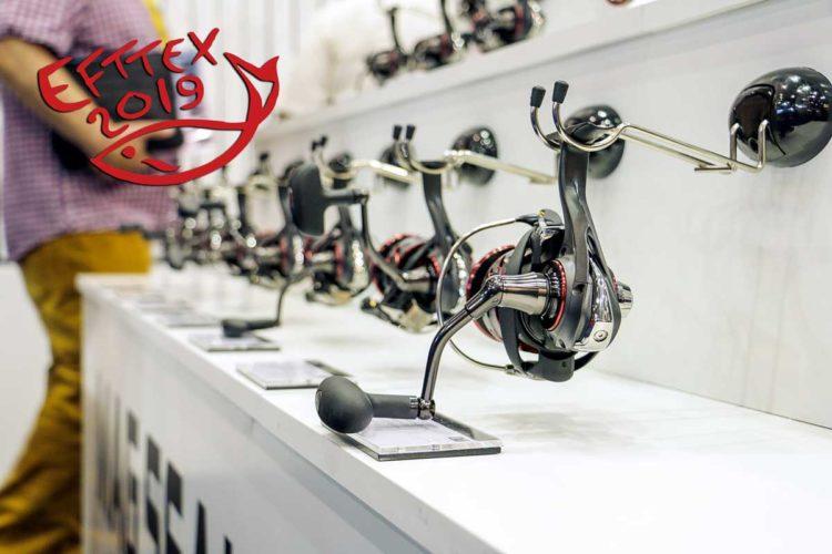 Angelgeräte für die Saison 2020 konnte man auf der EFTTEX 2019 (European Fishing Tackle Trade Exhibition) in Brüssel bewundern.