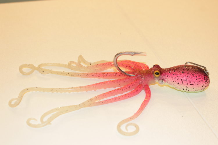 Der 3D-Octopus von Savage Gear wird mit seinem realistischen Aussehen auch die Ostseedorsche kirre machen.
