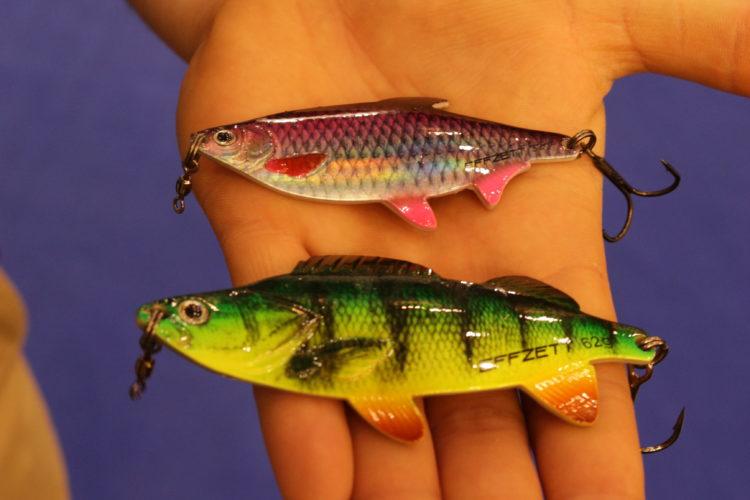 Blinker im Köderfischgewand, das sind die Effzett Roach und Perch Spoons der DAM.