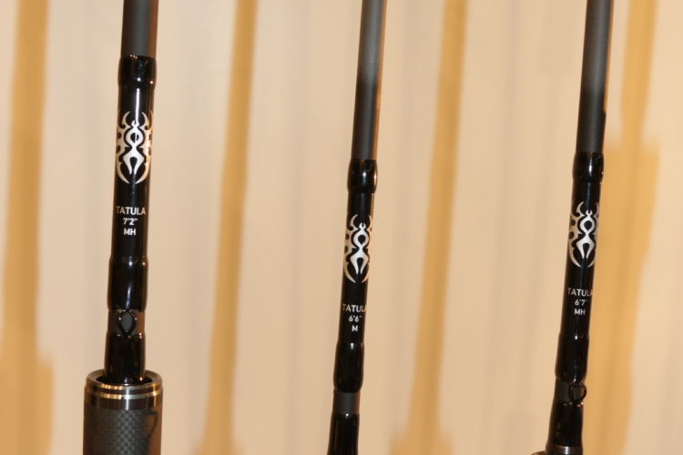 Die neuen Tatula-Ruten bieten höchsten Angelgenuss bei unterschiedlichen Spinnangelarten.